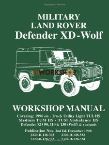 Land Rover Defender XD Wolf Workshop Manual
