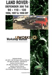 Land Rover Defender Workshop Manual 300Tdi 1996 1997 1998