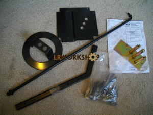 STC7633 - Defender Spare Wheel Bonnet Mounting Kit