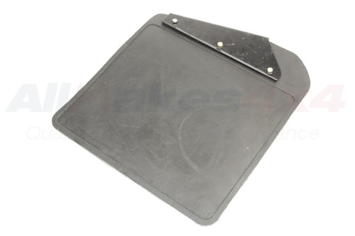 LR055323 - MUDFLAP WITH BRACKET RHF DEF (G)